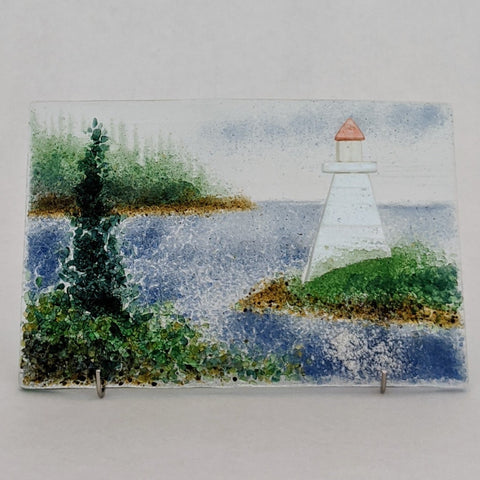 "Lighthouse 6"" x 4"""