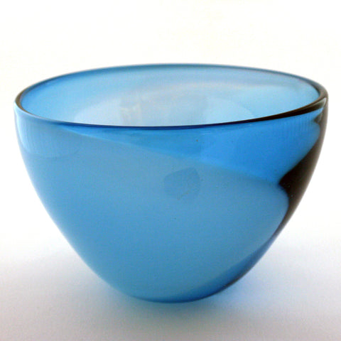 First Light Bowl (S), Blue
