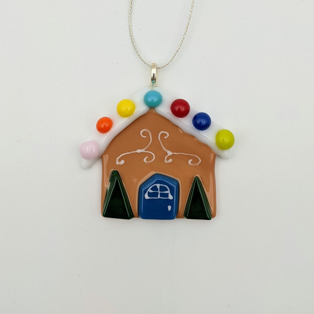 "3"" Gingerbread House Ornament"