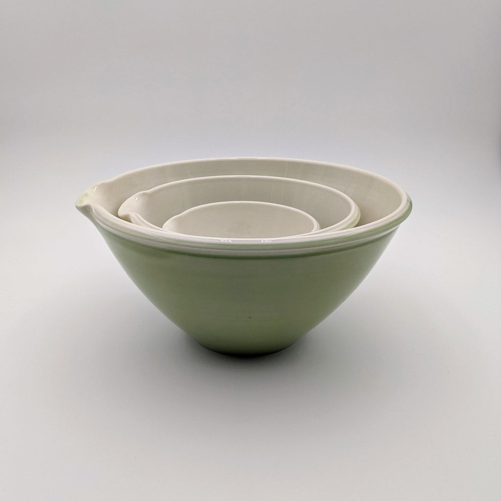 Mixing Bowl (set of 3) Green