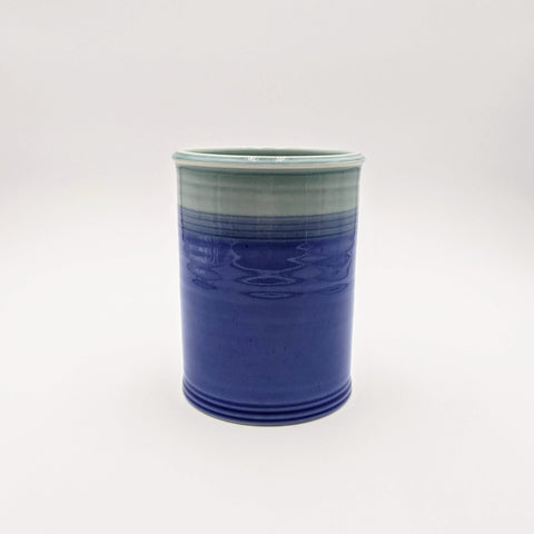 Utensil pot Lt. Blue/Blue