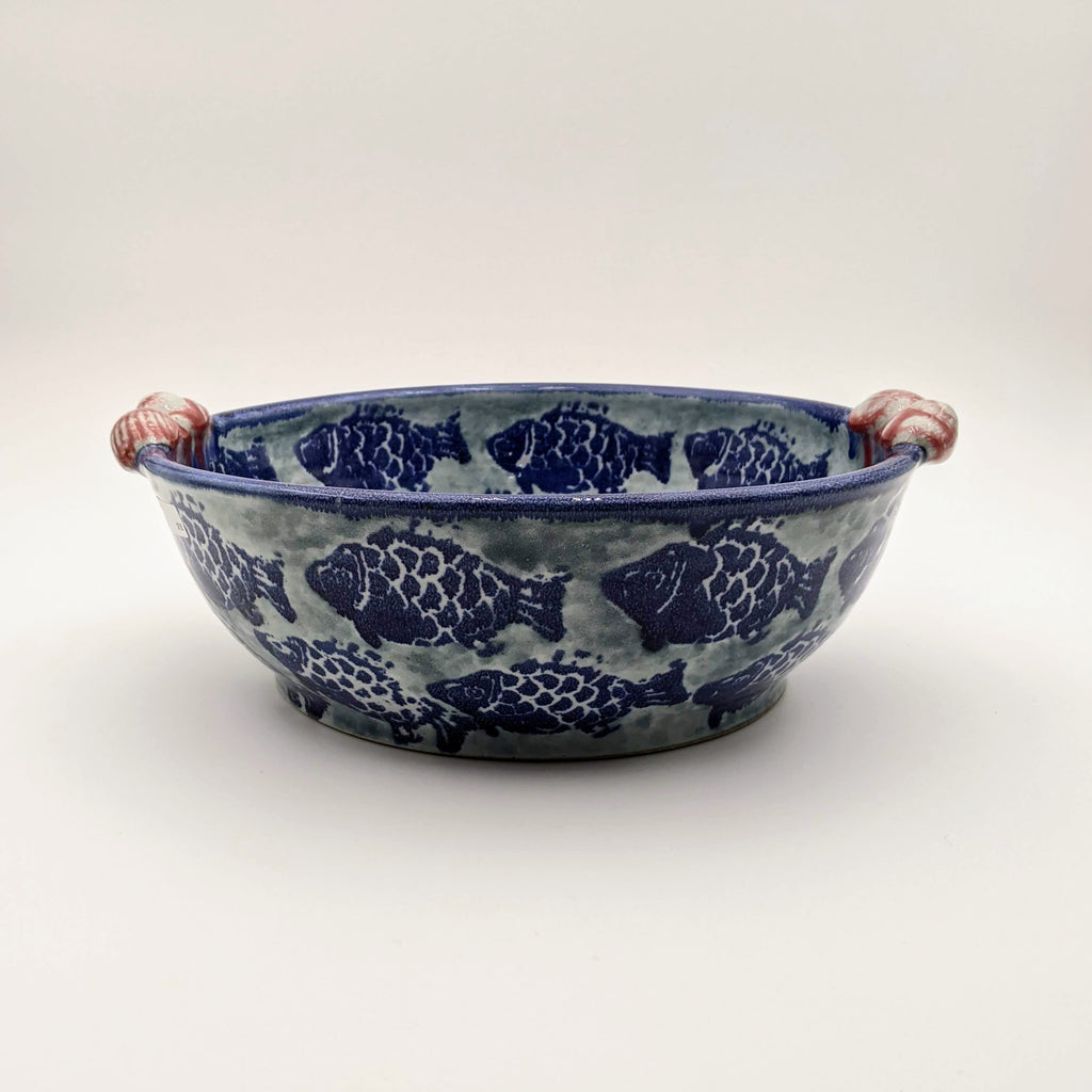 Bowl with handles Fish
