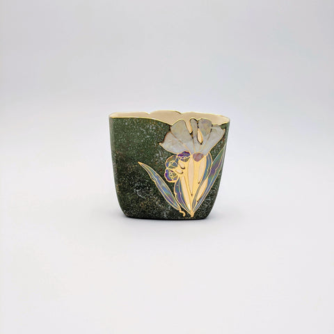 Short Square Vase Meadowgreen
