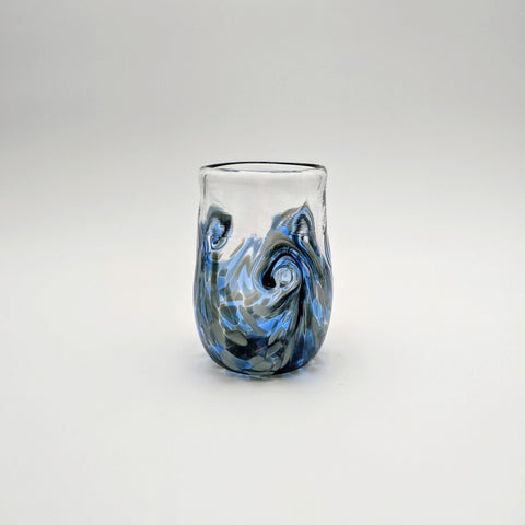 Twisty Cup Blue & Grey