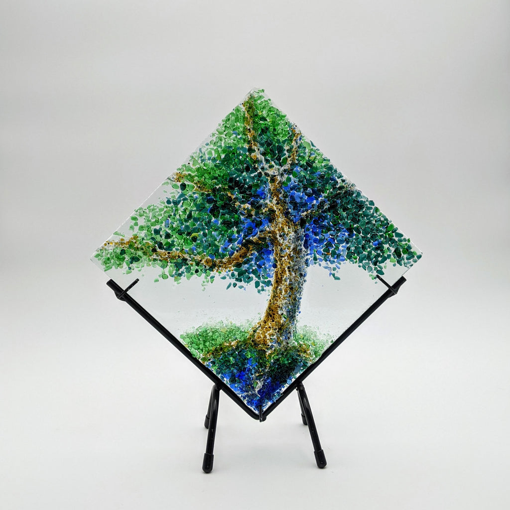 Tree of Life Diamond Shape w/ Stand