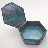 Stained Glass Box (hexagon)