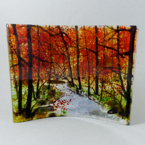 Autumn Stream 12, Miniature Landscape