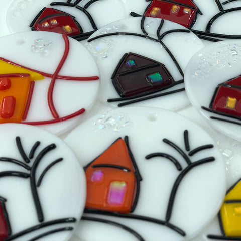 Fused Glass Ornament Workshops