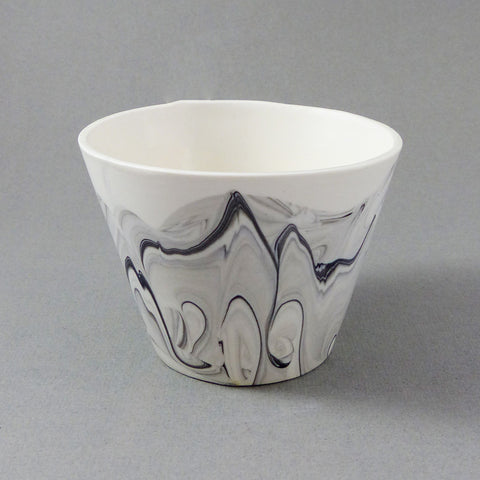 Marbled Short Tumbler (Monochrome)
