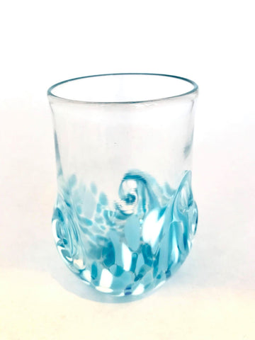 Twisty Cup- Light Blue and White