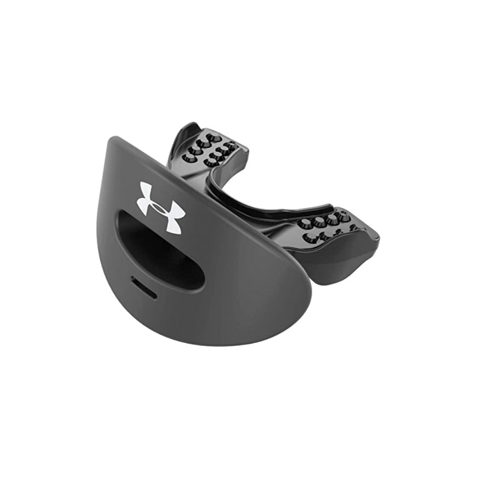 UA ARMOUR AIR MOUTHGUARD – BLACK – AGES 11 & UP