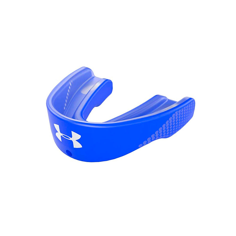 UA ARMOUR GAMEDAY MOUTHGUARD – ROYAL – AGES 11 & UP