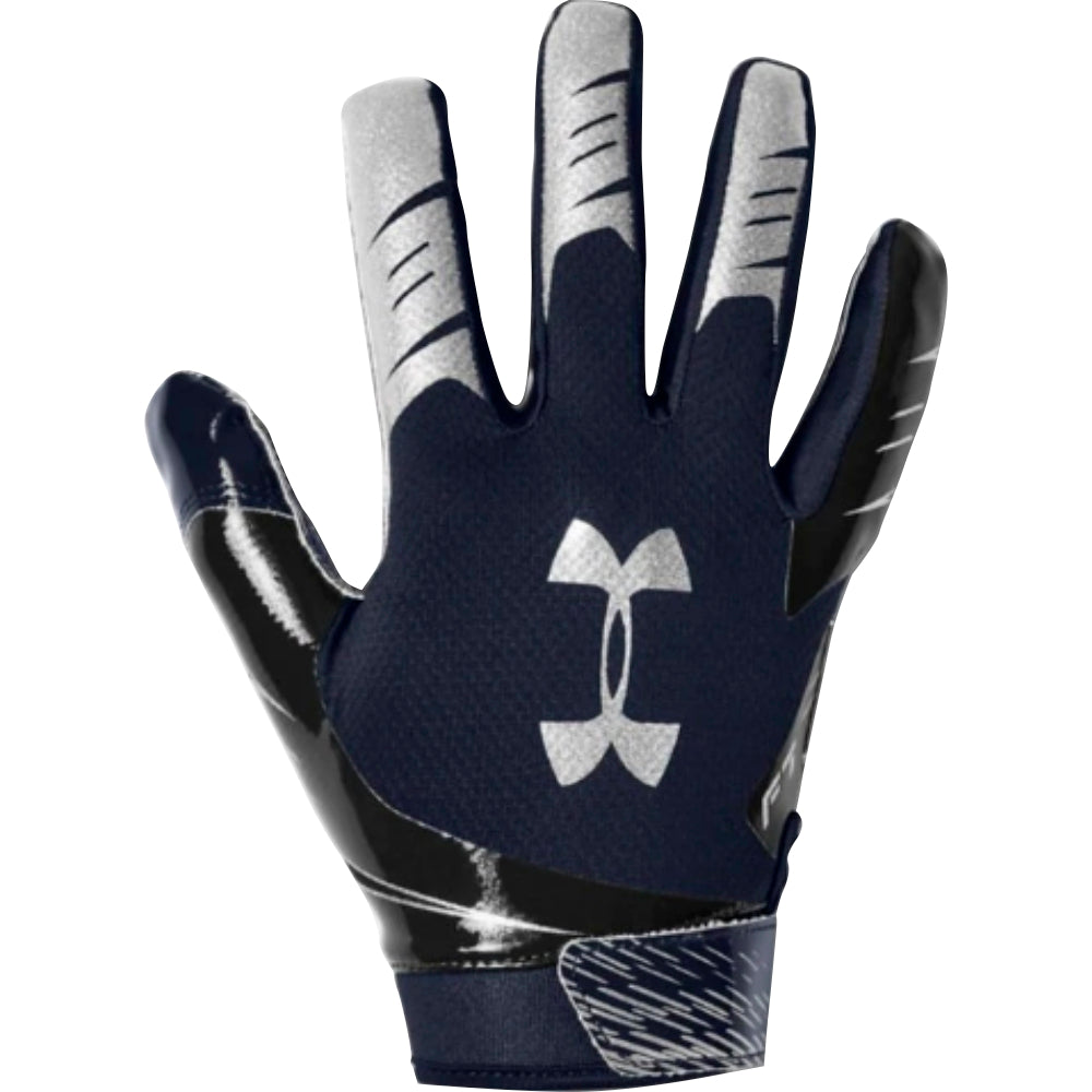 UA F7 FOOTBALL GLOVES  – NAVY 410 – ADULT