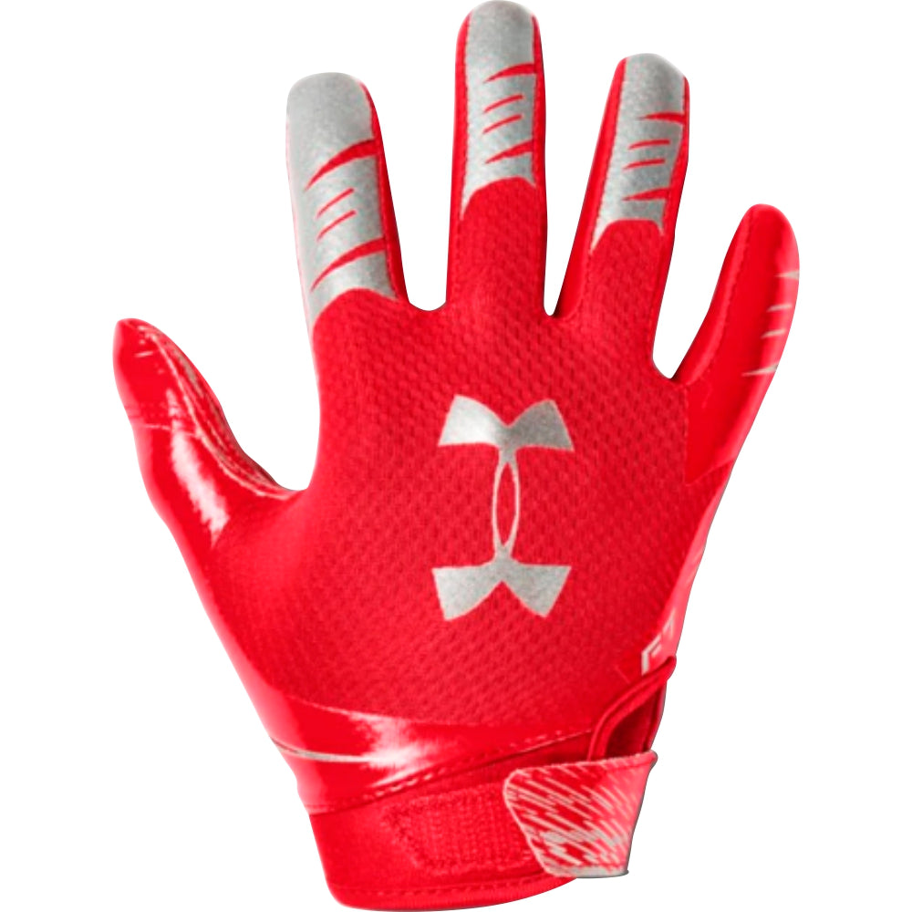 UA F7 FOOTBALL GLOVES  – RED 600 – YOUTH
