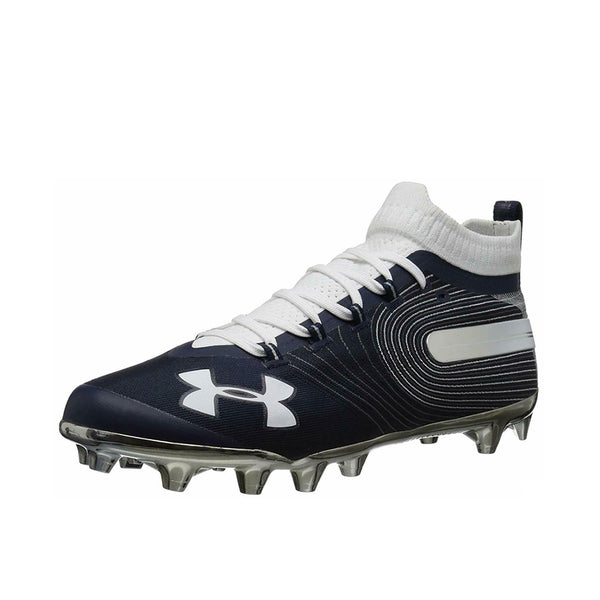 UA MENS SPOTLIGHT SUEDE MC FOOTBALL CLEAT - NAVY