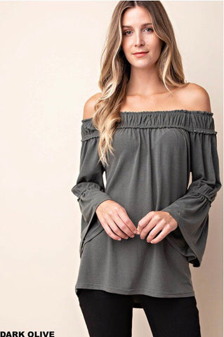 Belle Off Shoulder Top