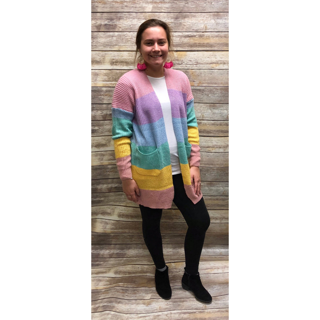 Over The Rainbow Cardi 🌈