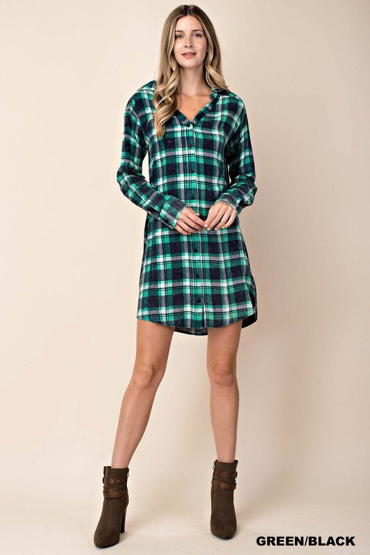 Mel's Fave Plaid Tunic Dress