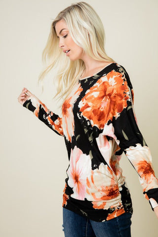 Taylor Floral Print Tunic
