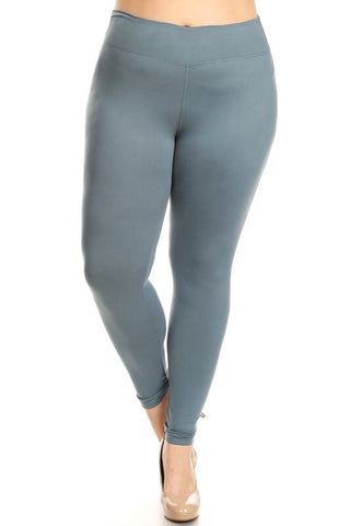 The BEST Leggings-SEAFOAM GREEN PLUS Size