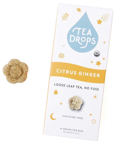 Tea Drops; Citrus Ginger (10)