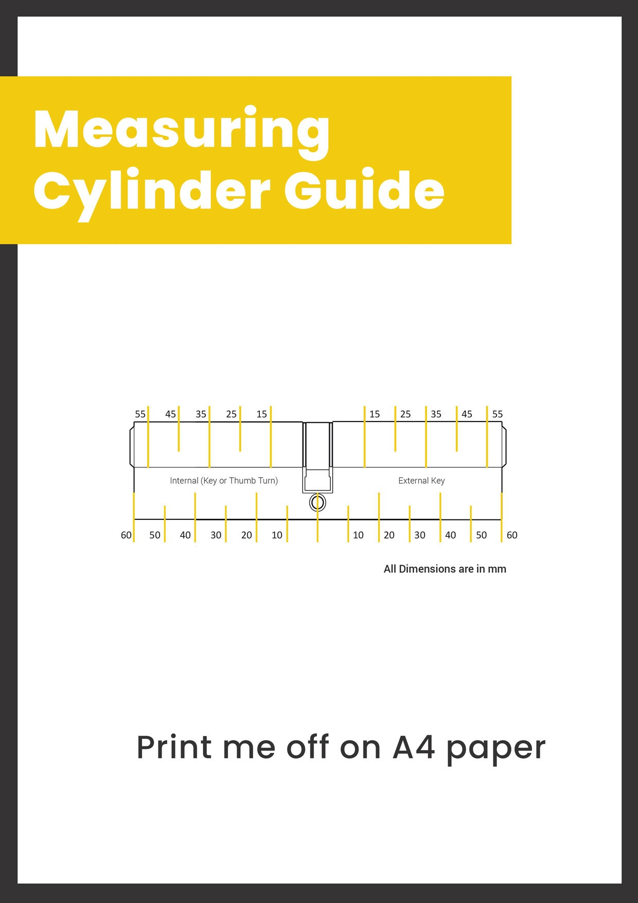 Measuring Cylinder Guide - A4 print off