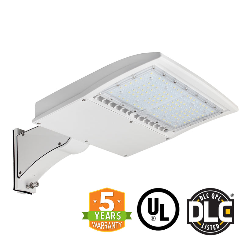 LED Street Light - 150W - Outdoor LED Direct Mount - White - DLC Listed - 5 Year Warranty - 5700K - Green Light Depot