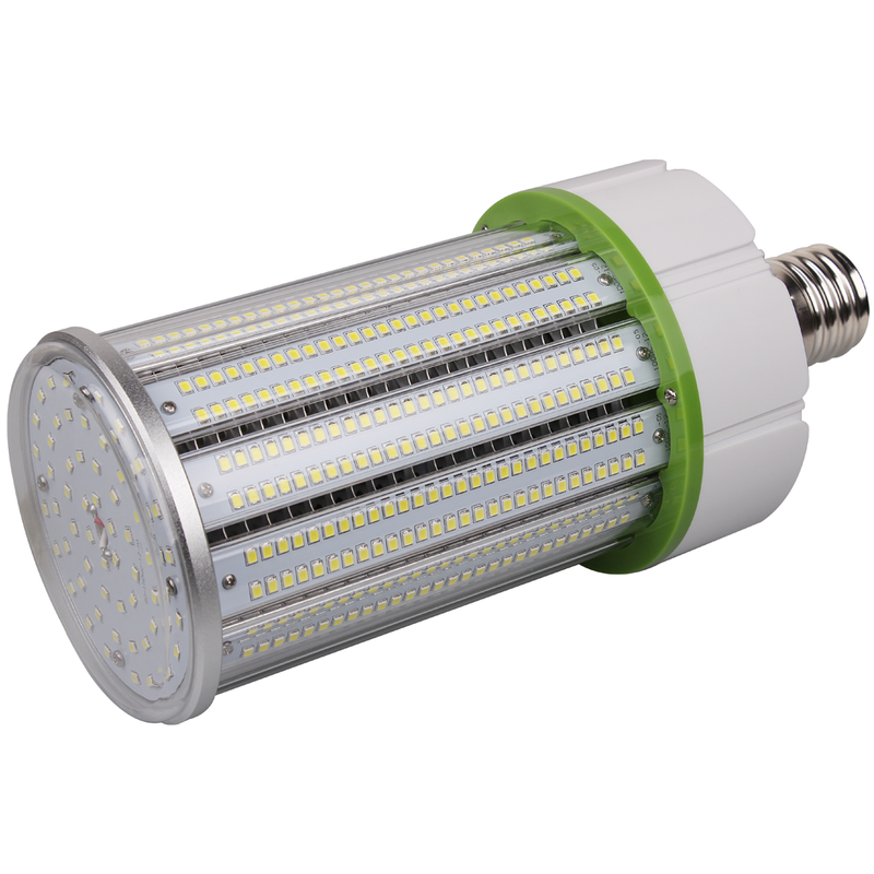 150W LED Corn Bulb - 400W Equivalent Metal Halide - Mogul Base (E39) - (UL+DLC) - Green Light Depot
