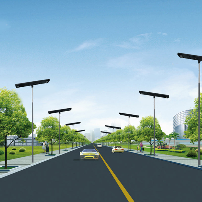 Solar LED Pathway And Street Light - 12,000 Lumens