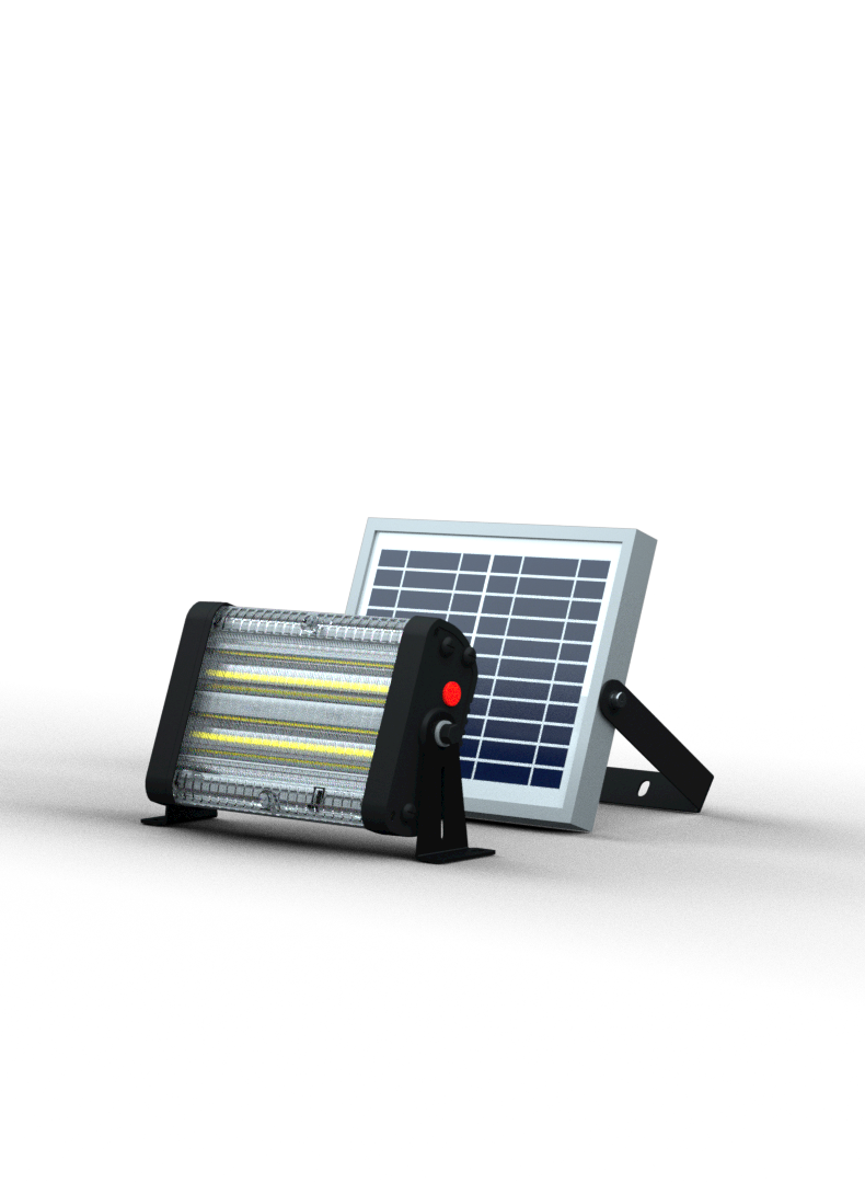 Solar Yard Light- 2000 Lumens - Remote Included