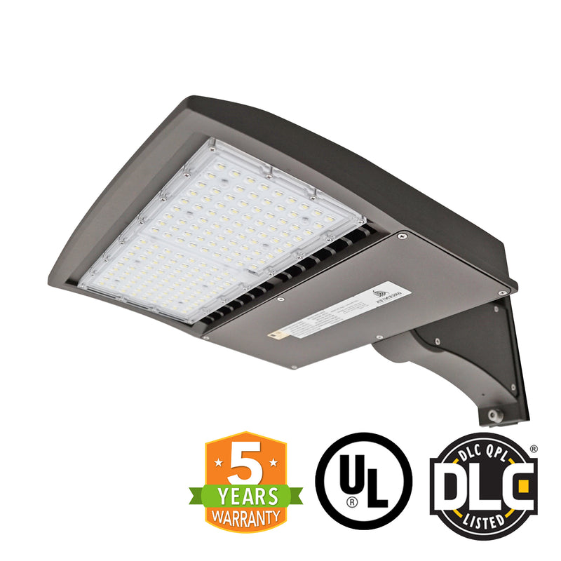 LED Street Light - 150W - Outdoor LED Direct Mount - DLC Listed - 5 Year Warranty - 5700K - Green Light Depot