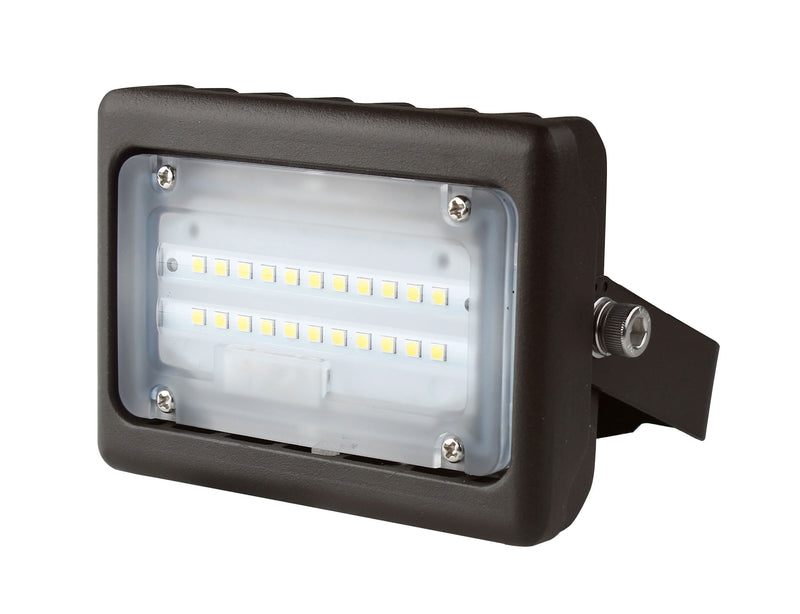 LED Flood Light - 15W -Flood Mount - (UL+DLC) - 5 Year Warranty - Green Light Depot