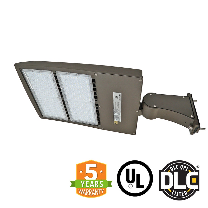 LED Street Light - 300W - High Voltage 480V - Surge Protector - Outdoor LED Direct Mount - 5 Year Warranty - Green Light Depot