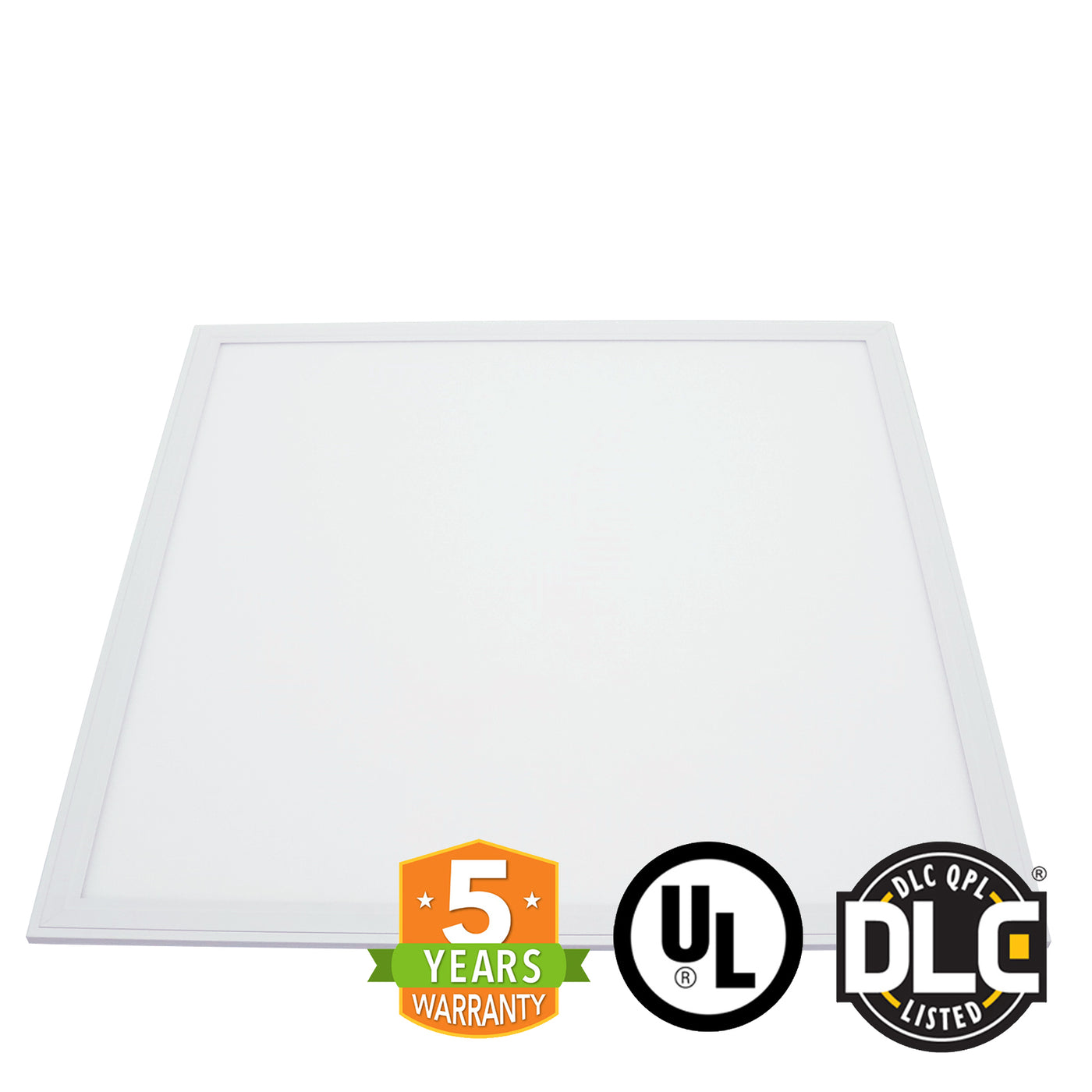 2' x 2' 40W LED Panel Light - PMMA - (UL+DLC) - Dimmable - *Buy By The Box  Promo*