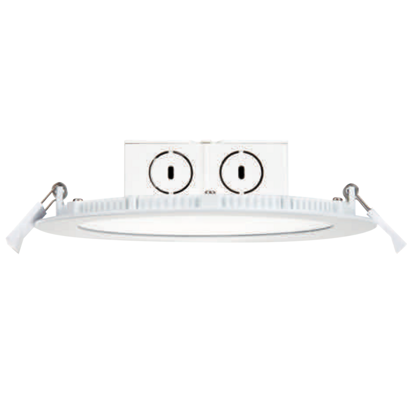 LED flat J-box Downlight - 6inch - 11.5W - 800lm - Dimmable - UL+ES