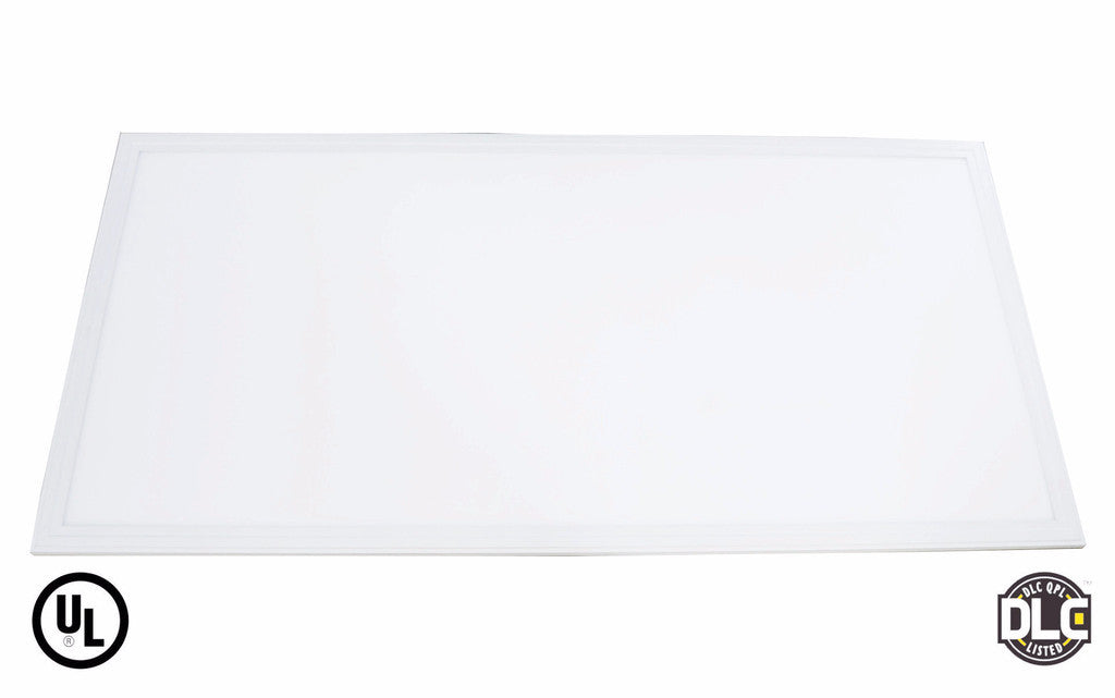 2' x 4' 50W LED Panel Light - (DLC+UL) - 120Lm/w - Dimmable - Premium DLC - Green Light Depot
