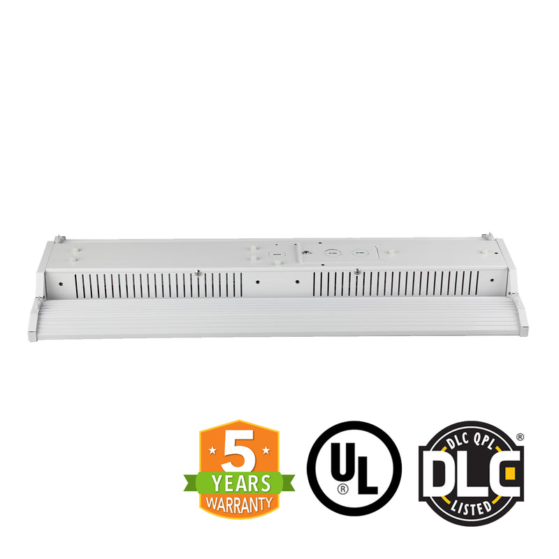 LED Linear High Bay Frosted Lens - 300W - Cable Mounting - Gen 3 - (UL+DLC) - Green Light Depot