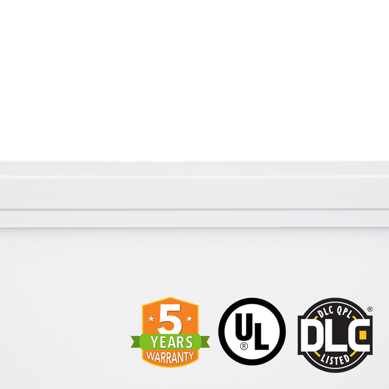 2' x 4' 50W LED Panel Light - (UL+DLC) - 100Lm/w - Dimmable -  *Buy By The Box Promo* - Green Light Depot