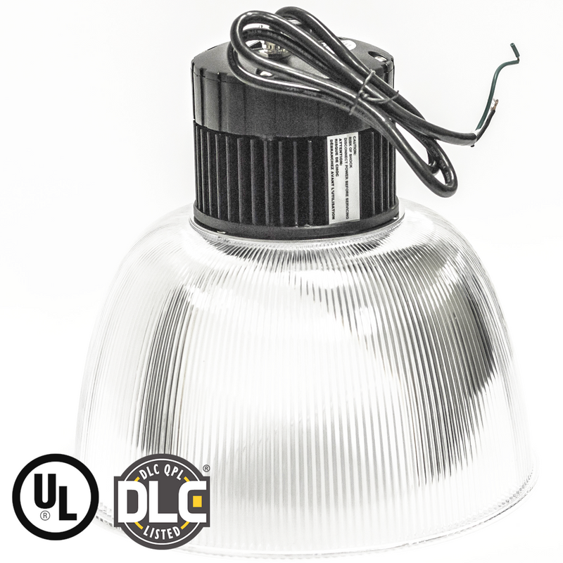LED High Bay - Acrylic Lens- 5,000 Lumens - 50W - (DLC+UL) - Green Light Depot - 3