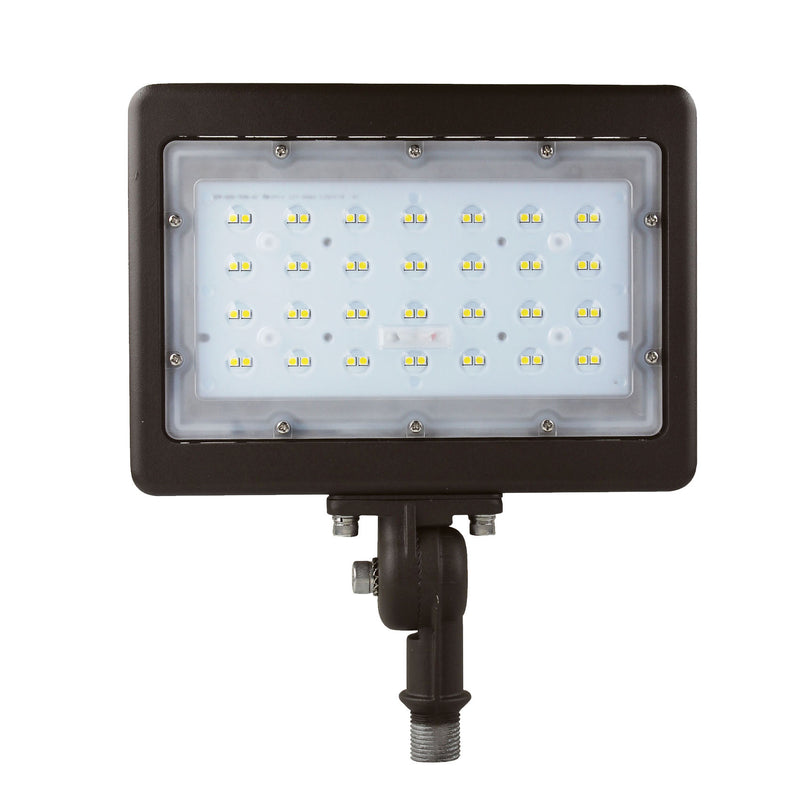 LED Flood Light - Knuckle Mount - Landscape Light - 50W - (UL+DLC) - 5 Year Warranty - Green Light Depot