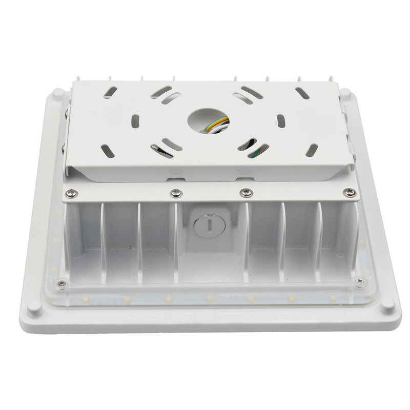 LED Canopy Light - 35W Outdoor Parking Garage Light - (UL+DLC Listed) - Green Light Depot