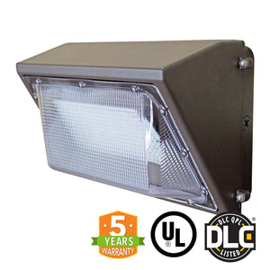 55W LED Wall Pack Light - Forward Throw - (UL + DLC Listed) - Green Light Depot