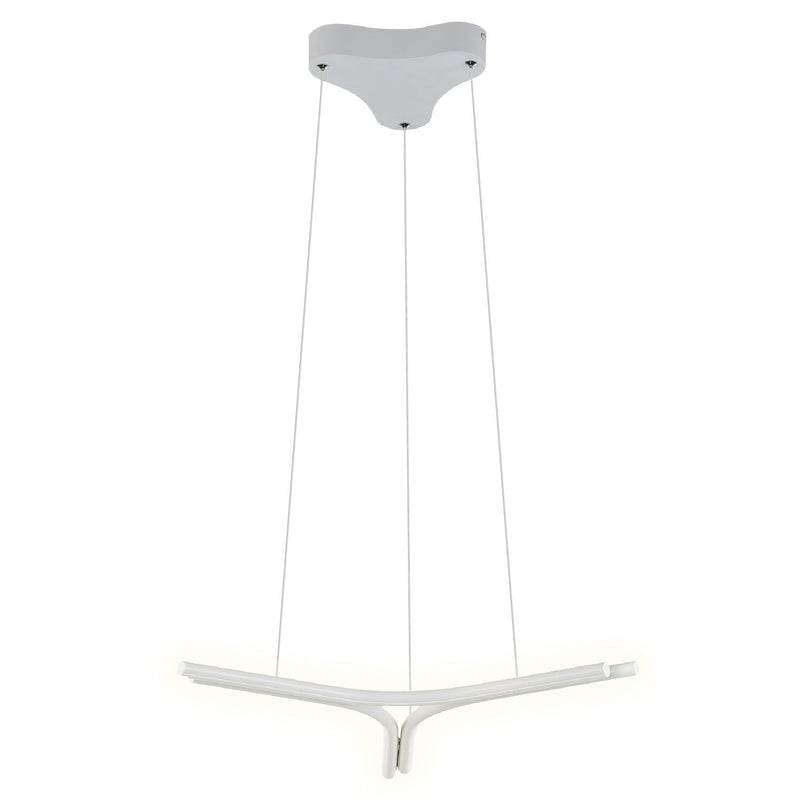 Modern Chandelier LED Linear Suspension Organic Fixture