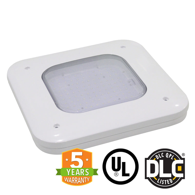 LED Canopy Light - 150W - Gas Station Canopy - 5700K - (UL + DLC Listed)