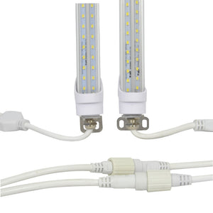 5ft LED Refrigeration/Cooler Light - Two Sided- (UL+DLC) - Green Light Depot