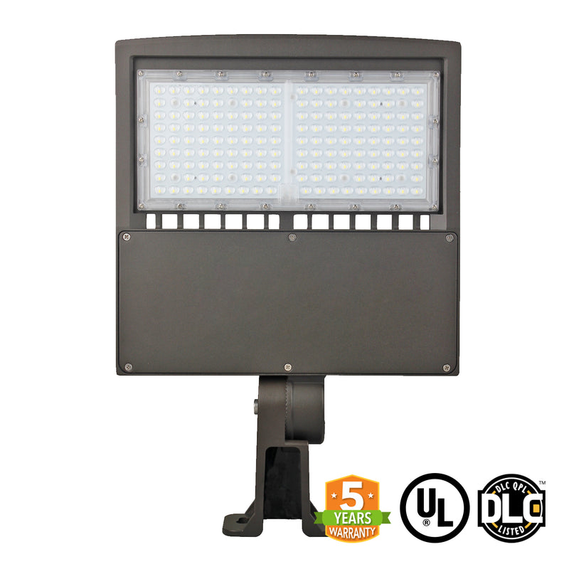 LED Street Light - 150W - LED Luminaire Yoke Mount - DLC Listed - 5 Year Warranty - Green Light Depot