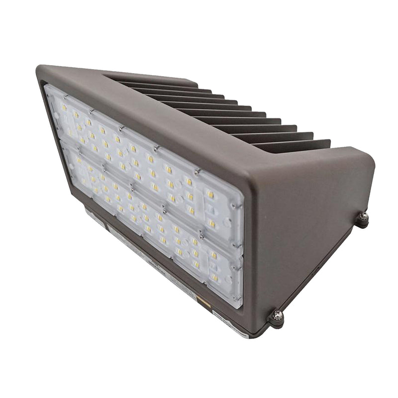 100W LED Wall Pack Light - 13190 Lumens - 320W Equivalent - Full Cutoff - DLC Listed