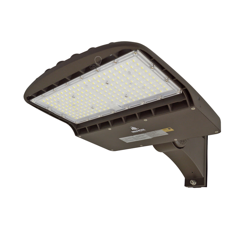 LED Street Light - 100W - 14,000 Lumens - Shorting Cap - Direct Mount - AL2 Series - UL+DLC