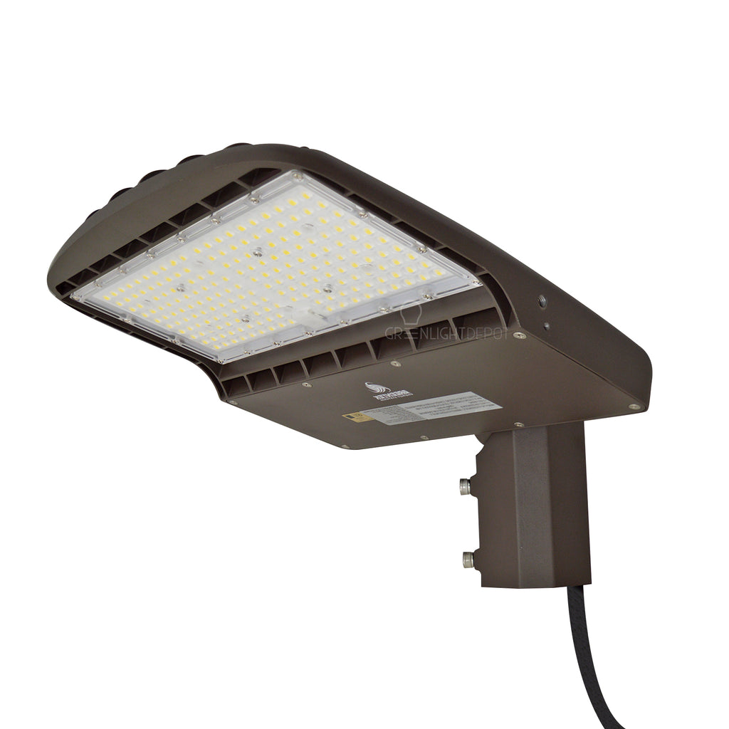 LED Street Light - 100W - 14,000 Lumens - Shorting Cap - Slip Fitter Mount - AL2 Series - UL+DLC