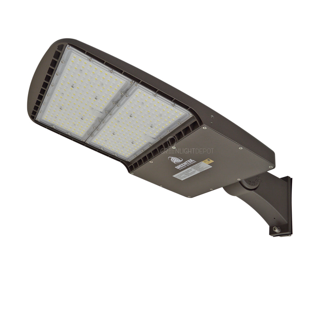 LED Street Light - 240W - 33,600 Lumens - Shorting Cap - Direct Mount - AL2 Series - UL+DLC